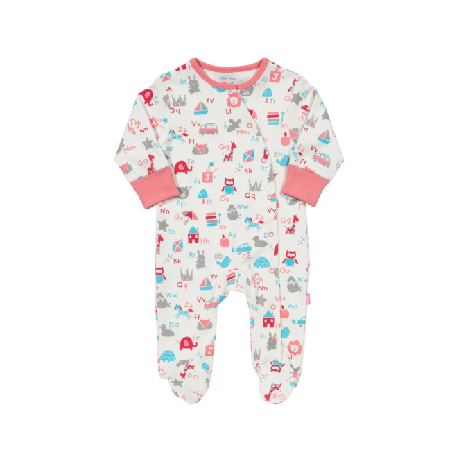 Kite Clothing Baby ABC Romper Pink