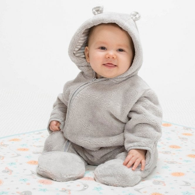 4db47657bfe1 Kite Clothing Baby Bear Fleece Onesie - Baby Clothes from Soup Dragon UK