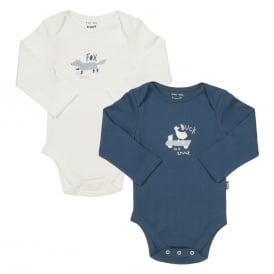 Kite Clothing Baby Bodysuit Animal 2 Pack