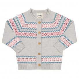 e46ded5c4 Kite Clothing Baby Cardigan Fair Isle - Baby Clothes from Soup Dragon UK