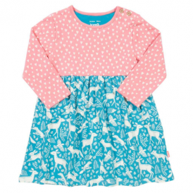 Kite Clothing Baby Dress Bluejay