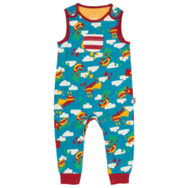 Kite Clothing Baby Dungarees Superhero