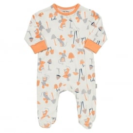 Kite Clothing Baby Mousey Sleepsuit
