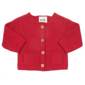 Kite Clothing Baby My First Cardi Red