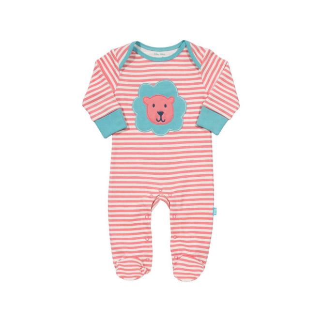 Kite Clothing Baby Romper Lion Pink
