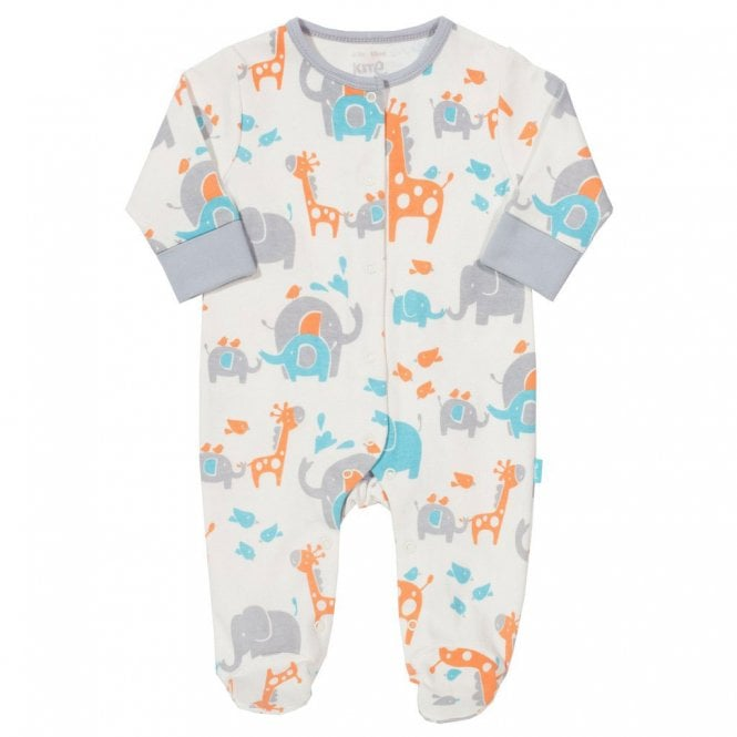 ec0925e01 Kite Clothing Baby Sleepsuit Safari - Baby Clothes from Soup Dragon UK