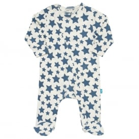 Kite Clothing Baby Star Zippy Sleepsuit