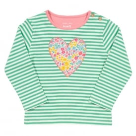 Kite Clothing Baby Top Posy Heart