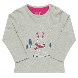 Kite Clothing Baby Top Reindeer