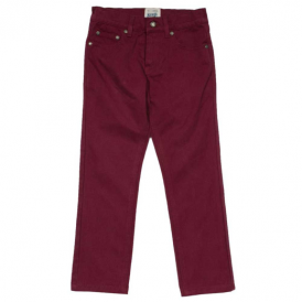Kite Clothing Slim Fit Burgundy Jeans