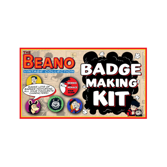 Lagoon Games - Beano Badge Making Kit