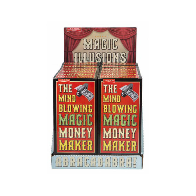 Lagoon Games The Mind Blowing Magic Money Maker