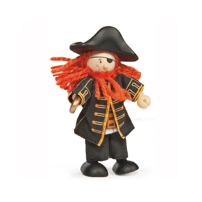Le Toy Van Budkins Pirate Barbarossa