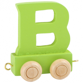 Legler Coloured Name Train Letter B