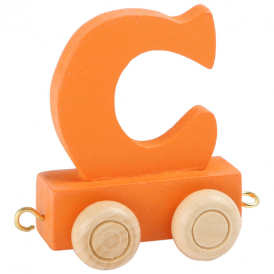 Legler Coloured Name Train Letter C