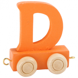 Legler Coloured Name Train Letter D
