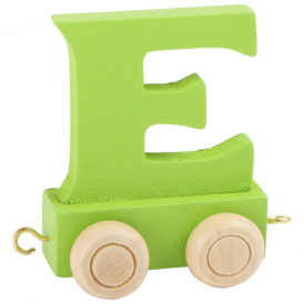 Legler Coloured Name Train Letter E