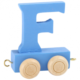 Legler Coloured Name Train Letter F