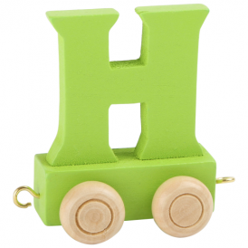 Legler Coloured Name Train Letter H