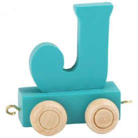 Legler Coloured Name Train Letter J