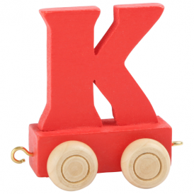 Legler Coloured Name Train Letter K