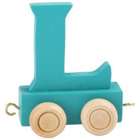 Legler Coloured Name Train Letter L