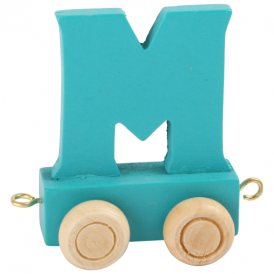 Legler Coloured Name Train Letter M