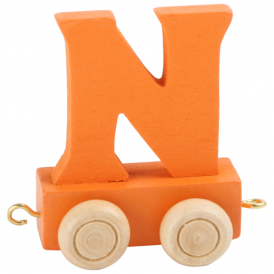 Legler Coloured Name Train Letter N