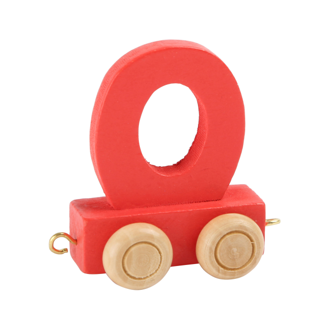 Legler Coloured Name Train Letter O