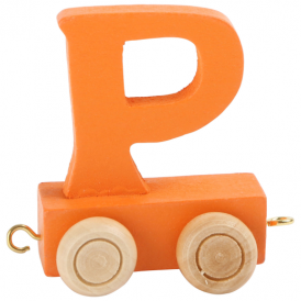 Legler Coloured Name Train Letter P