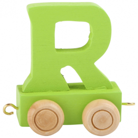 Legler Coloured Name Train Letter R