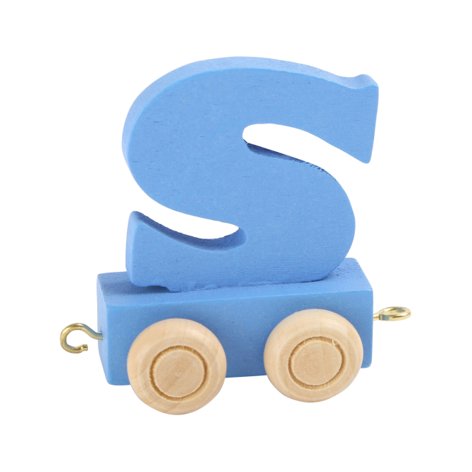 Legler Coloured Name Train Letter S