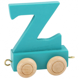 Legler Coloured Name Train Letter Z