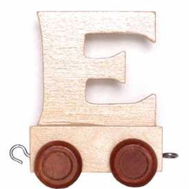 Legler Name Train Letter E
