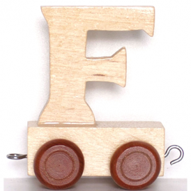 Legler Name Train Letter F