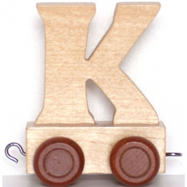 Legler Name Train Letter K
