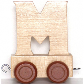 Legler Name Train Letter M