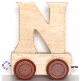 Legler Name Train Letter N