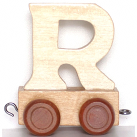 Legler Name Train Letter R