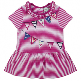 Lilly and Sid Baby Girl Dress Bunting Stripe