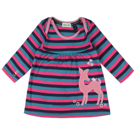 Lilly and Sid Baby Girl Dress Little Deer