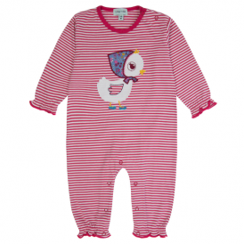 Lilly and Sid Baby Romper Duck