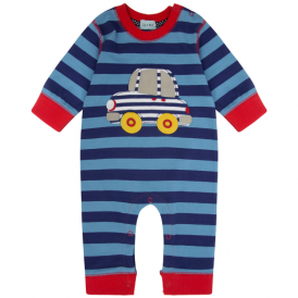 Lilly and Sid Baby Romper Stripe Car