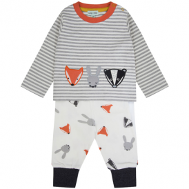 Lilly and Sid Baby Top & Joggers Woodland