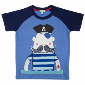 Lilly and Sid Boys Top Pirate Jellybones