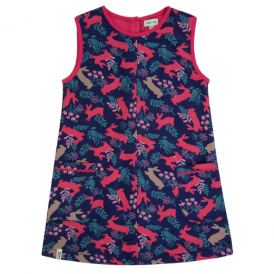Lilly and Sid Dress Bunny Pinafore