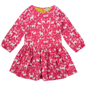 Lilly and Sid Dress Woodland