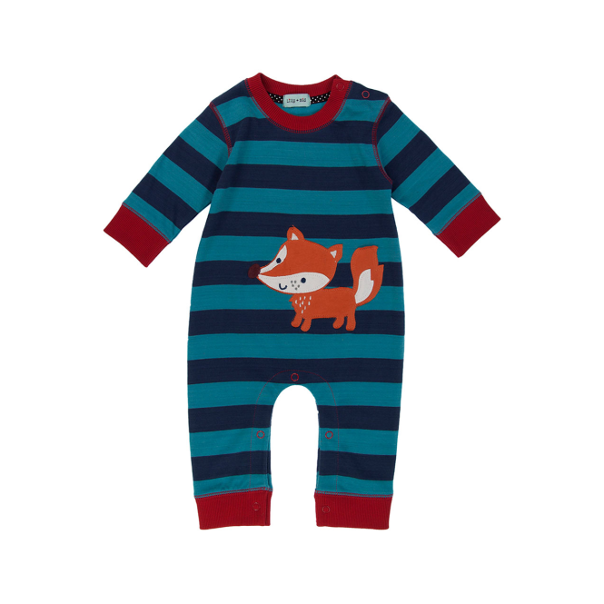 Lilly and Sid Lilly & Sid Baby Boy Romper Mr Fox