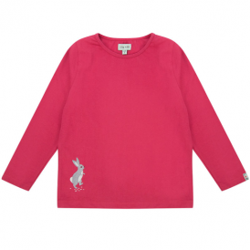 Lilly and Sid Top Pink Rabbit