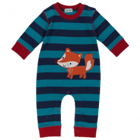Lilly & Sid Baby Boy Romper Mr Fox